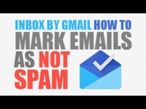 Mark as Not Spam