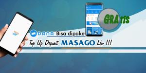 Topup MASAGO pake DANA