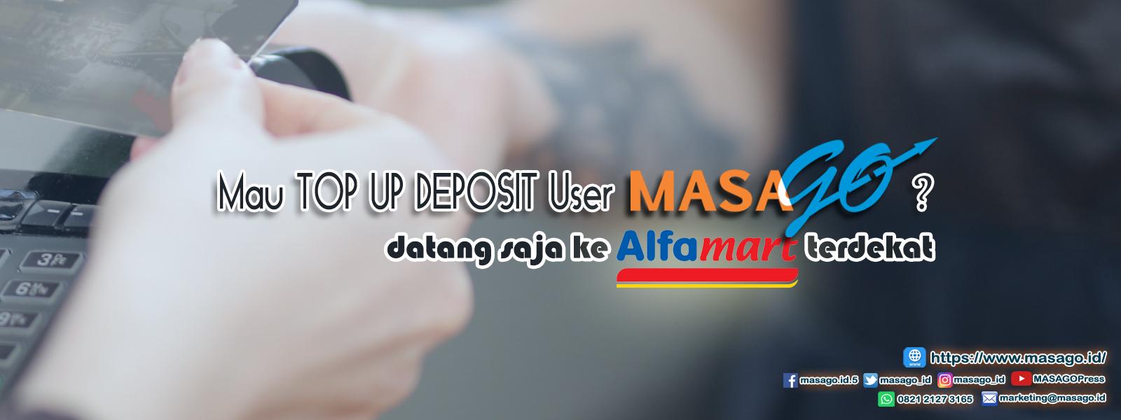 Deposit - Topup - Alfamart - Slider